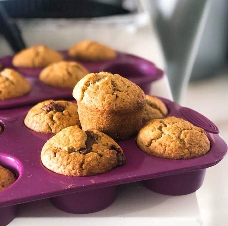 Muffins de Banana y Avena